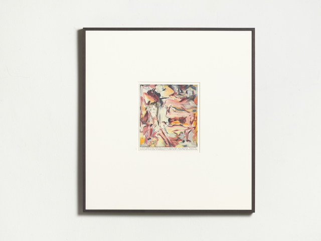 Rinus Van de Velde, 'I think something like this could work', 2019, Drawing, Collage or other Work on Paper, Color pencil on paper, framed, KÖNIG GALERIE