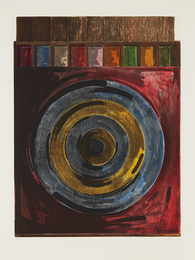 Jasper Johns, 'Target with Plaster Casts,' 1979-1980, Phillips: Evening and Day Editions (October 2016)