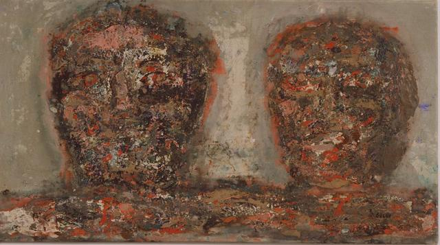 , 'Two Heads,' 1961, Anthony Reynolds Gallery
