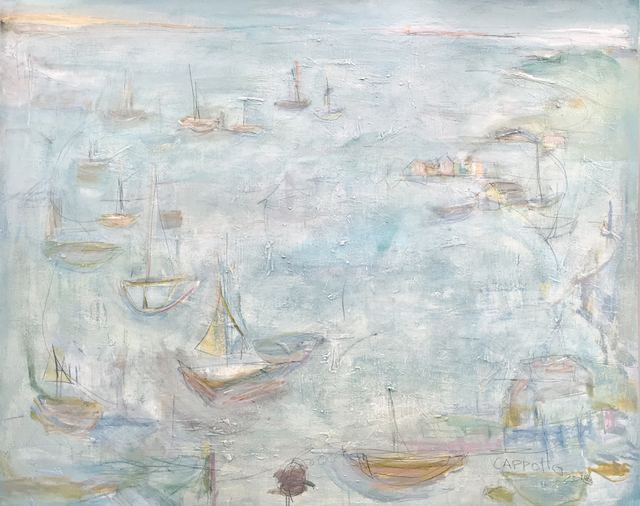 , 'All Boats Rise,' 2018, AMP: Art Market Provincetown