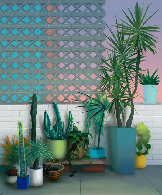, 'Improvised Garden VI (Pacific Heights),' 2017, Rena Bransten Gallery