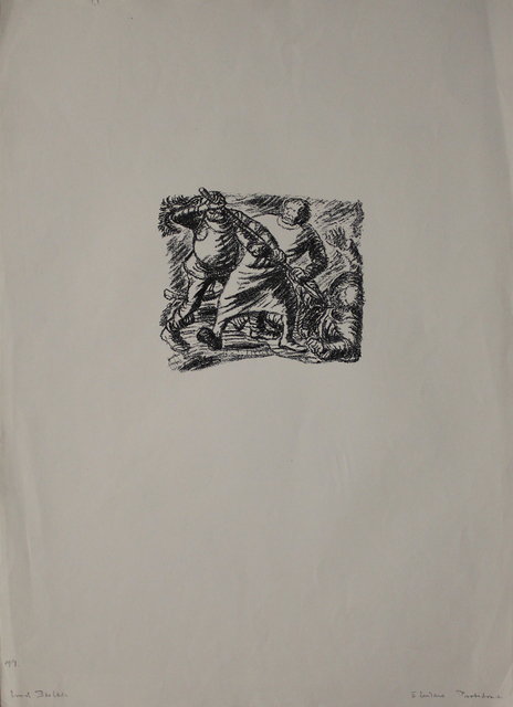 Ernst Barlach, 'Bruder', 1916, Print, Lithograph, Sylvan Cole Gallery