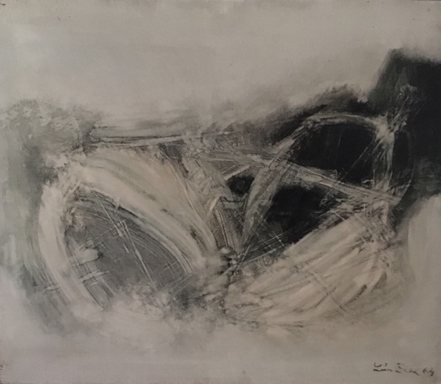 , 'Composition Abstraite,' 1964, Palisander Gallery