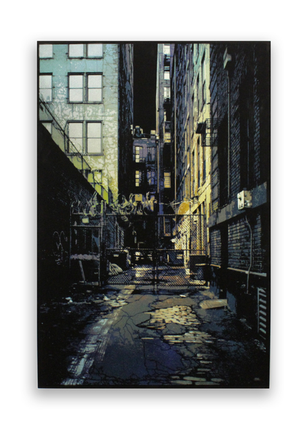 , 'Industrial Alley,' 2016, Station 16 Gallery