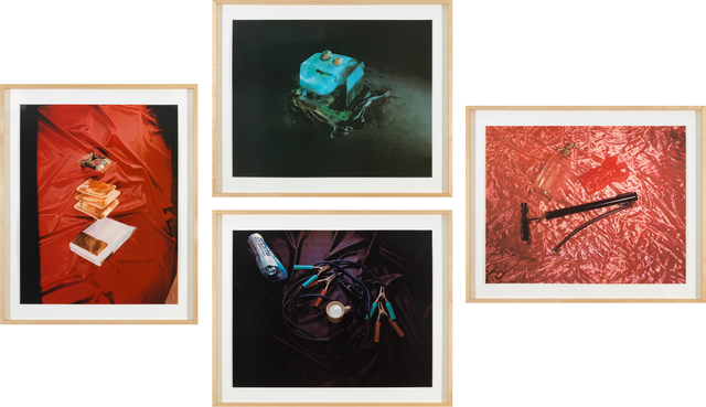 , 'Sweets, Meats, Sheets; Closed; Air, Water, Fire; and Open from Tropical Fish Series,' 1975, Gagosian