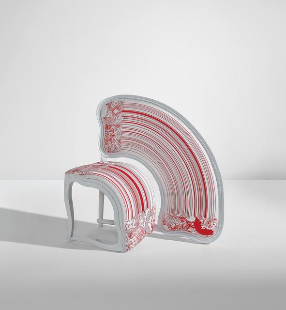 """Sebastian Brajkovic, '""""Lathe V Red"""" chair', 2008, Phillips"""