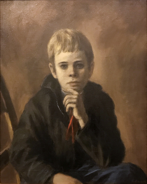 Alexander Brook, 'Young Boy', ca. 1926, Painting, Oil on Canvas, Childs Gallery