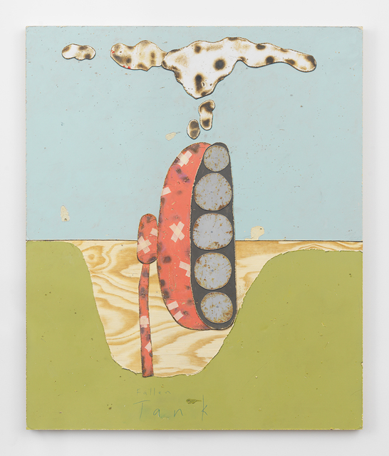 , 'Fallen Tank,' 2016, Horton Gallery