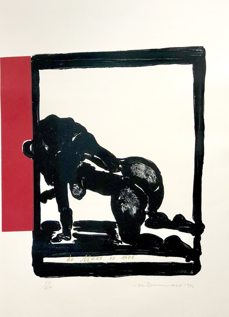 , 'De muze is moe,' 1994, Absolut Art Gallery
