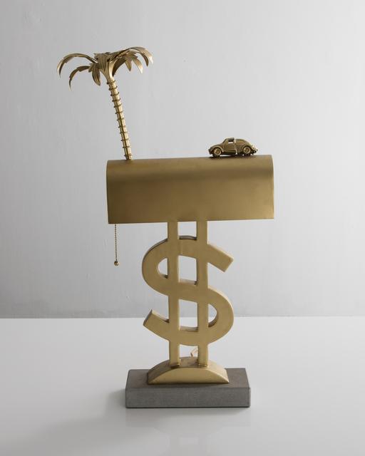 ", '""Dollaro con Wolkswagen"" Table Lamp ,' ca. 1975, R & Company"