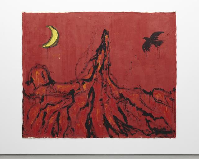 , '燃えたぎる山火,' 2013, Tomio Koyama Gallery