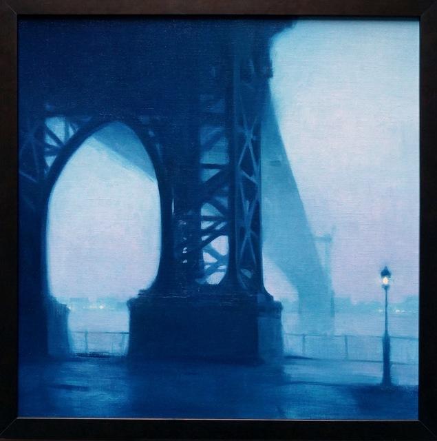 , 'Rainy Day, Williamsburg Bridge,' 2017, Grenning Gallery