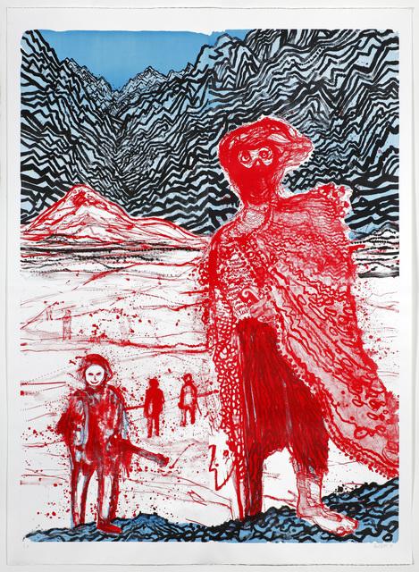 Daniel Richter, 'Begegnung im Hinterland', 2011, Galerie Sabine Knust