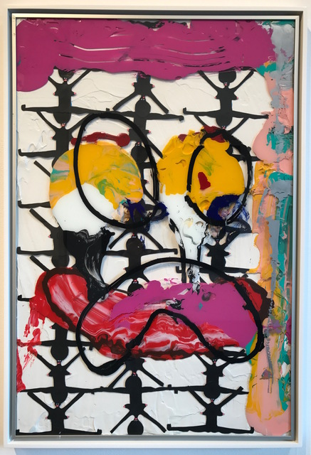 """, 'Ikea abstractions/portraiture (in this case portraiture) #88 """"yoga matts, pilates, plus you, me and a lil bit of sadness"""",' 2016, Richard Heller Gallery"""