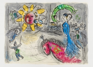 Marc Chagall, 'Derrière le Miroir No.235,' 1979, Forum Auctions: Editions and Works on Paper (March 2017)