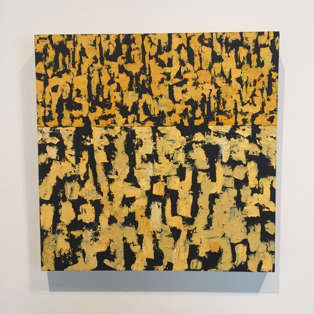 , 'Yellow Over Yellow,' 2016, Joseph Nease Gallery