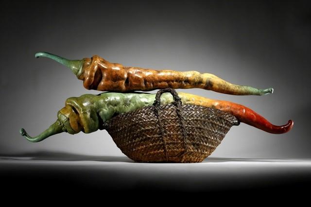 , 'PEPPER BASKET II,' 2012, ArtSpace / Virginia Miller Galleries
