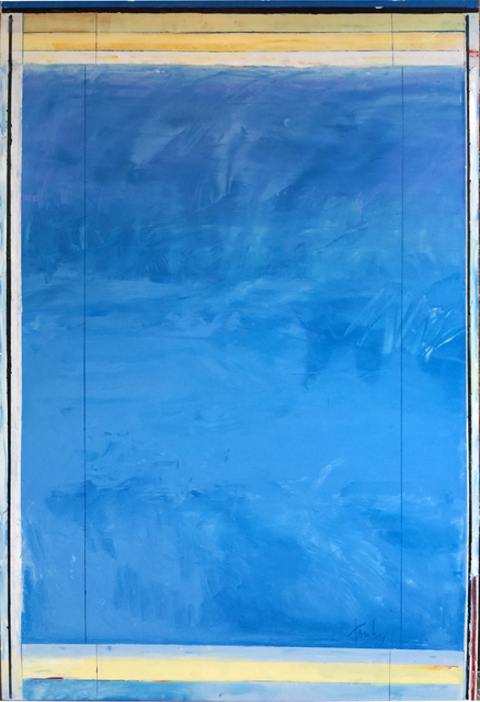 , 'Blue 1054 ,' 2016, Bill Hodges Gallery