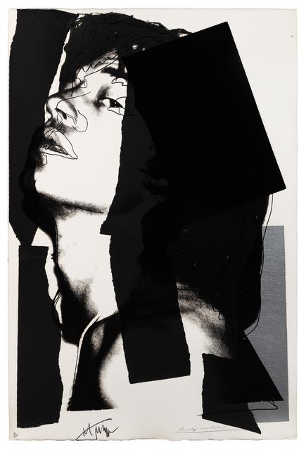 Andy Warhol, 'Mick Jagger', 1975, Hindman