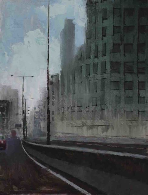 William Wray, 'Guard Rail', 2017, Sue Greenwood Fine Art