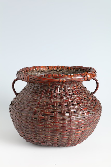 , 'Flower Basket with Side Handles (T-4146),' ca. 1931, Erik Thomsen