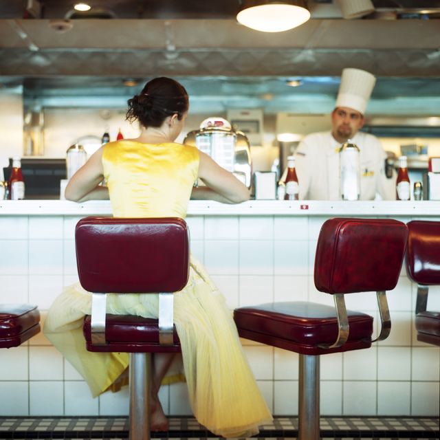 , 'The Diner, Self Portrait, Miami, Florida,' 2005, Huxley-Parlour