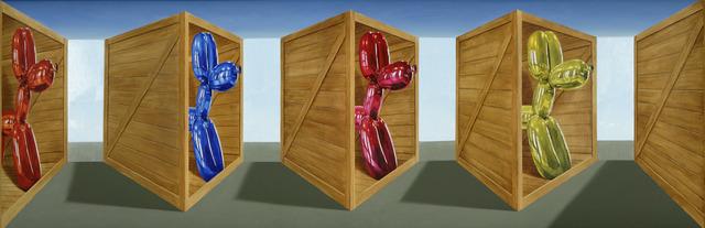 , 'Koons Poodles,' 2011, Winsor Gallery