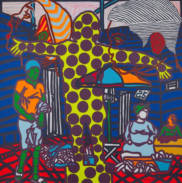 Boris Nzebo, 'Nkolouloun', 2019, Jack Bell Gallery