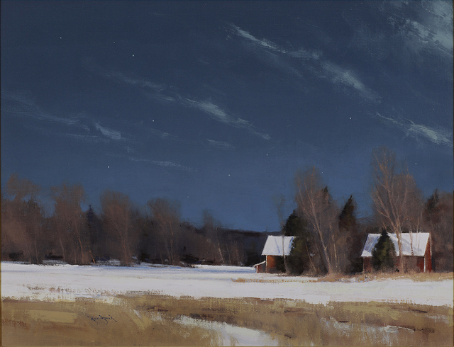 , 'Grant Township Farm by Moonlight,' 2014, Rehs Contemporary Galleries