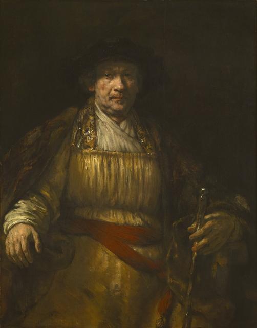 Rembrandt van Rijn, 'Self-portrait', 1658, Painting, Oil on canvas, Art History 101
