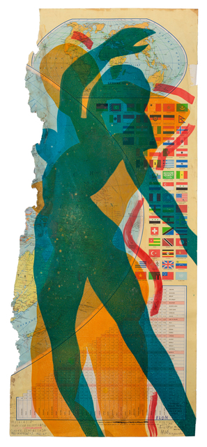 , 'Map of the World (Woman),' 1967, The Mayor Gallery