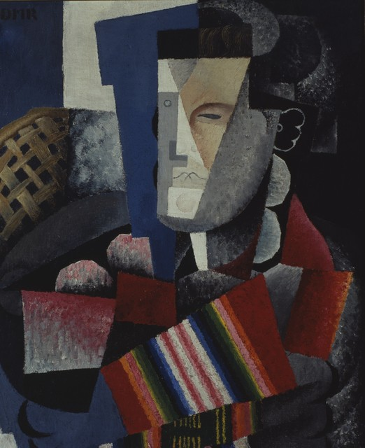 , 'Portrait of Martín Luis Guzmán,' 1915, Philadelphia Museum of Art