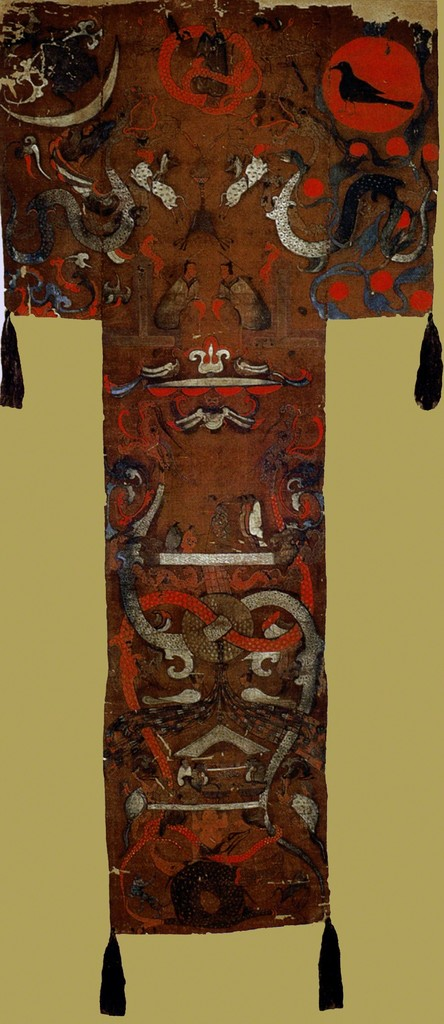 Painted banner, Tomb of the Marquess of Dai, Mawangdui,