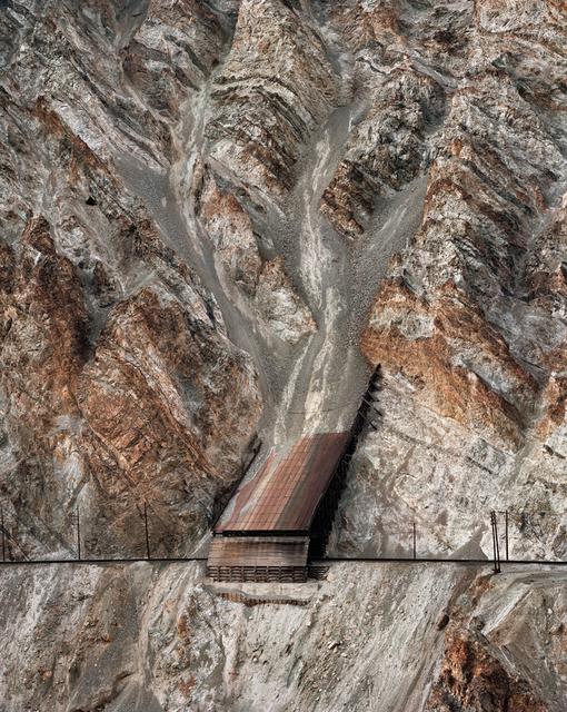 , 'Railcuts #13, C.N. Track, Thompson River, British Columbia,' 1985, Flowers