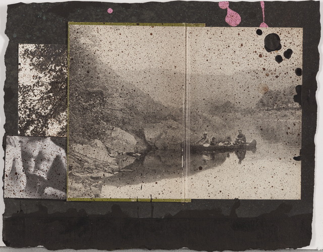 Don Joint, 'Teddy, from the Susquehanna River Summer Series', 2012, Drawing, Collage or other Work on Paper, Collage with mixed media, Childs Gallery