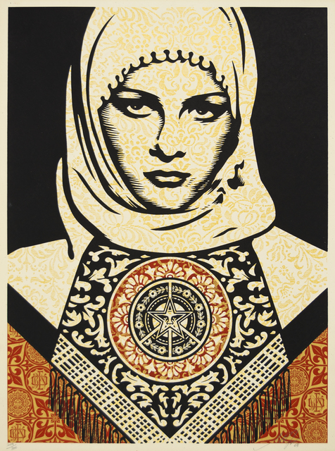 Shepard Fairey, 'Arab Woman', 2006, Heather James Fine Art Gallery Auction