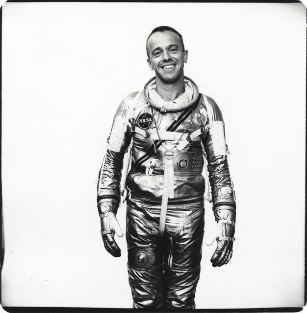 , 'Commander Alan Shepard, astronaut, Langley Field, Virginia,' March 31-1961, Pace/MacGill Gallery