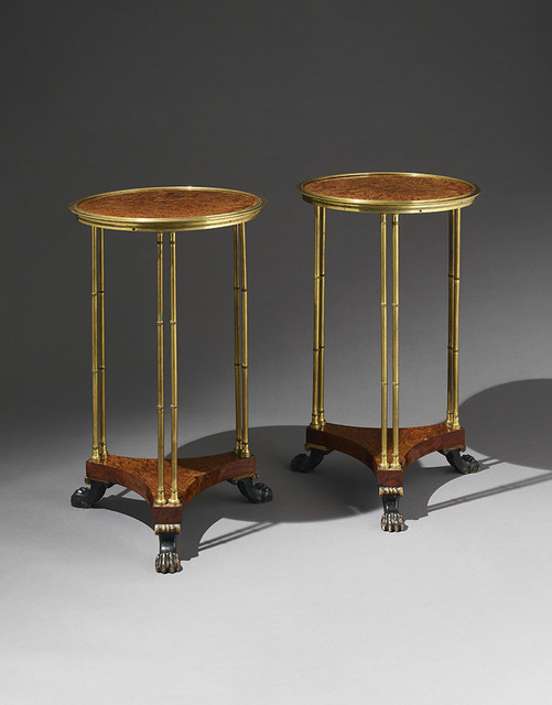 , 'Pair of tables,' Probably English-early nineteenth century , H. Blairman & Sons Ltd