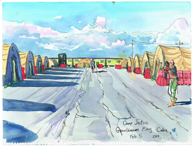 , '2/6/13, Camp Justice, Guantanamo Bay, Cuba,' 2013, Postmasters Gallery