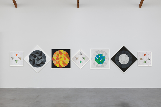 , 'Solar and Lunar - Seven Cycles - Trustworthy #227,' 2013, kurimanzutto