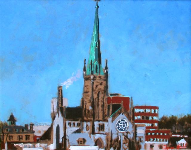 Glenn Hall, 'Cathedral Waterloo Street, Saint John', 2018, Gallery 78