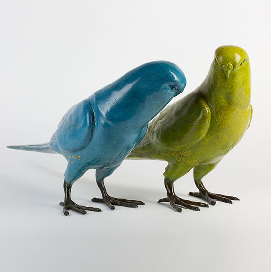 , 'Budgie Lovers,' 2017, Gillie and Marc Art Gallery