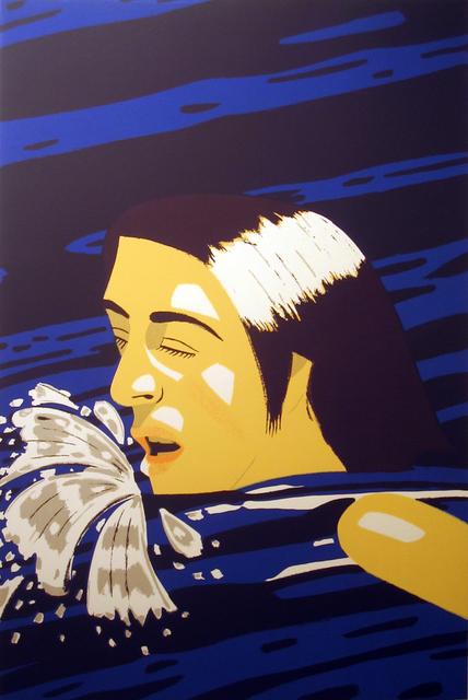 , 'Olympic Swimmer,' 1976, Meyerovich Gallery