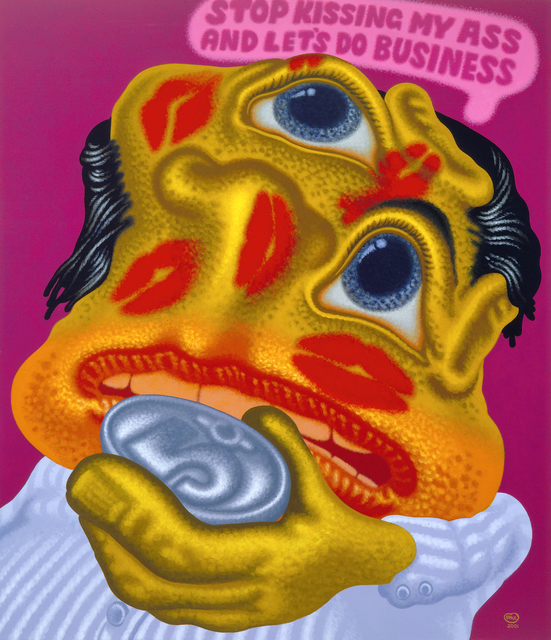 , 'Stop Kissing My Ass and Let's Do Business,' 2001, Gary Tatintsian Gallery