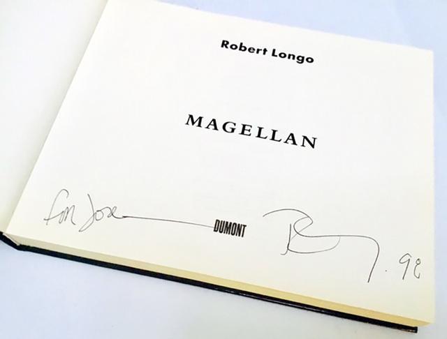 Robert Longo, 'Signed Robert Longo Magellan book ', 1997, Lot 180