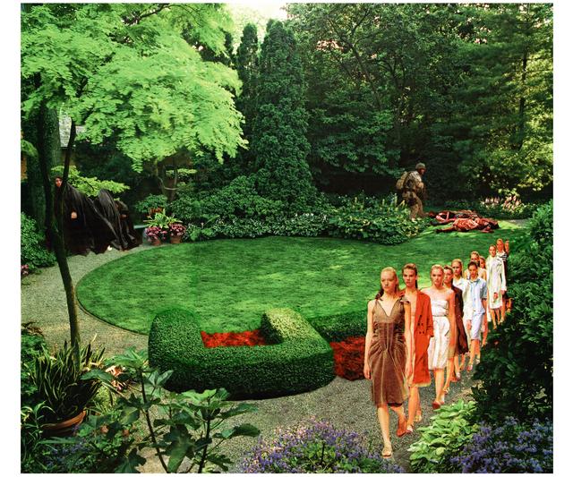 , 'Back Garden,' 2004, Seattle Art Museum