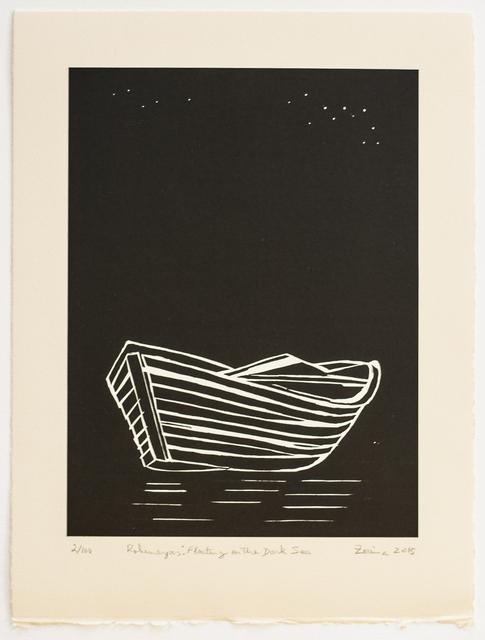 , 'Rohingyas: Floating on the Dark Sea,' 2015, Tate Modern
