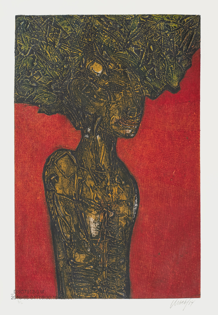 , 'Mujer con hojas / Woman with Leaves,' 2014, ArteMorfosis - Galería de Arte Cubano