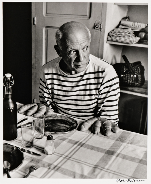 Robert Doisneau, 'Les pains de Picasso', 1952-later printing, Skinner