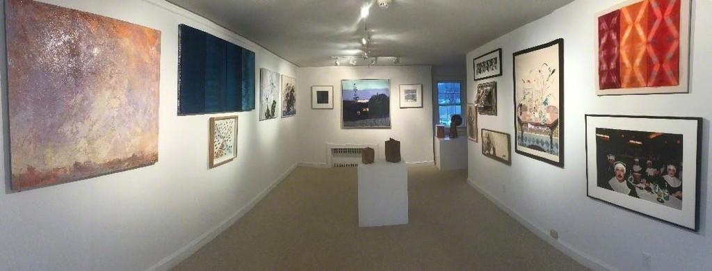 View of Downstairs Gallery Artful Season